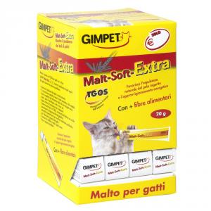 GIMPET Malt soft extra - malto in pasta gr. 20 - Alimenti speciali gatto