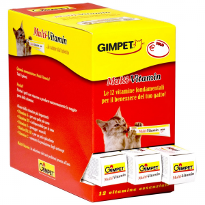 GIMPET Pasta multi-vitamin gr. 100 - Alimenti speciali gatto