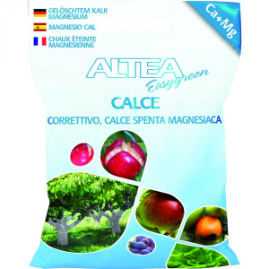 ALTEA Calce in polvere 4kg - Piante orto giardino concimi granulari
