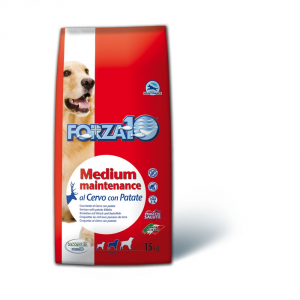 FORZA 10 Medium maintenance cervo e patate secco cane kg. 15