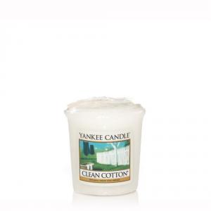 YANKEE CANDLE Moccolo profumato clean cotton - Candele profumate