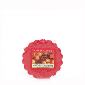 YANKEE CANDLE Tartina profumata mandarin cranberry - Candele profumate