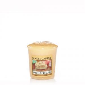 YANKEE CANDLE Moccolo profumato vanilla cupcake - Candele profumate