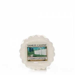 YANKEE CANDLE Tartina profumata clean cotton - Candele profumate