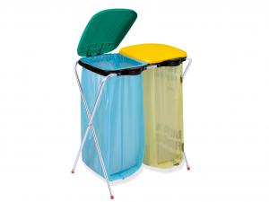 ARTEX Portasacchi ecofix 2 Sacchi per spazzatura e Riordino
