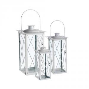 AGRICOLA HOME & GARDEN Lanterna vienna bianca - Arredo interno lanterne