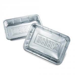 WEBER Vaschette alluminio - Accessori barbecue