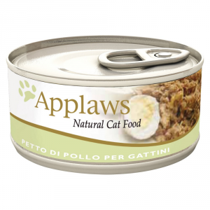APPLAWS Cat Natural Food Lattina Umido Grammi 70 - Mangimi Umidi Per Gatti