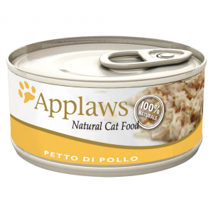 APPLAWS Cat Natural Food Lattina Con Pollo Umido Gatto Grammi 70