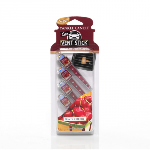 YANKEE CANDLE Profumatore per auto vent stick black cherry