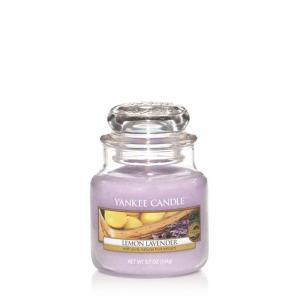YANKEE CANDLE Giara Profumata Lemon Lavender Piccola Candela Profumata
