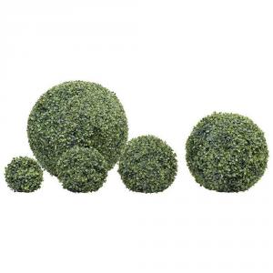 VERDEMAX Sfera Di Bosso Verdecor Cm. 22 Pianta Finta Da Interno Ed Esterno