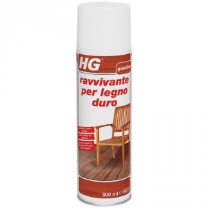 HG Ravvivante per la cura di mobili da giardino in legno duro ml. 750