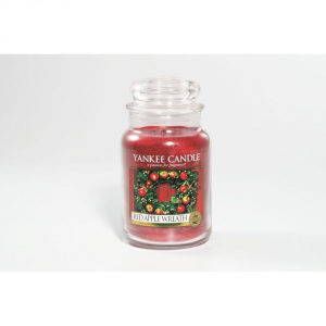 YANKEE CANDLE Giara Profumata Red Apple Wreath Grande Profumazione Ambiente