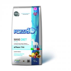 FORZA 10 Maxi diet pesce secco cane kg. 12 - Mangimi secchi per cani crocchette