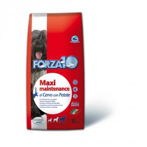 FORZA 10 Maxi maintenance cervo e patate secco cane kg. 15