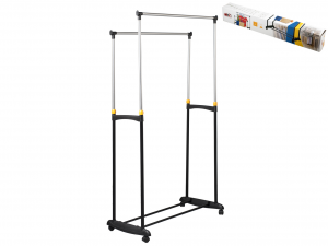 ARTEX Stand porta abiti elk doppio Contenitori e sistemazione armadio