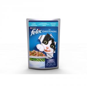 FELIX Le ghiottonerie con trota e fagiolini umido gatto gr. 100