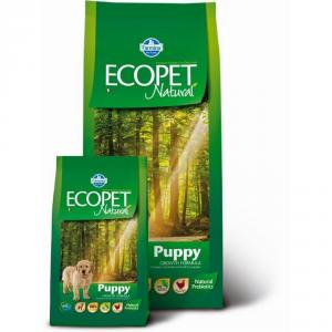 ECOPET NATURAL Puppy maxi con pollo secco cane kg. 12 - Mangimi secchi per cani