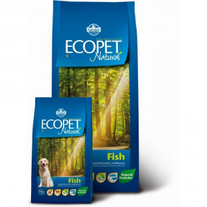ECOPET NATURAL Adult maxi con pesce secco cane kg. 12 - Mangimi secchi per cani