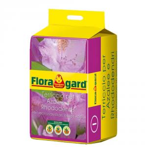 FLORAGARD Terriccio Per Azalee E Rododendri Lt. 20 Orto E Giardino