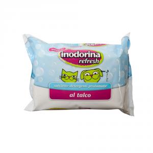 INODORINA Salviette Refresh Talco Igiene Cane