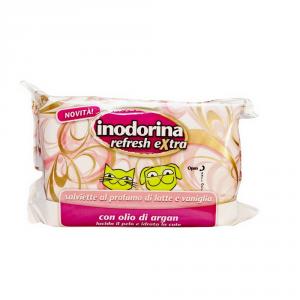 INODORINA Salviette Extra Latte Vaniglia Igiene Cane