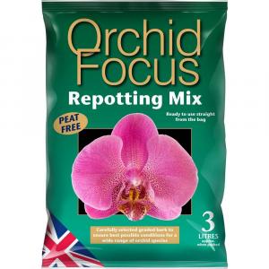 GROWTH TECHNOLOGY Substrato Per Il Rinvaso Delle Orchidee Lt. 3