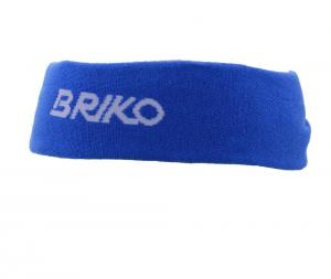 BRIKO Fascia unisex blu 012795 elasticizzata chiusura a nodo