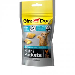 GIMDOG Nutripockets agile 45gr - Snack per cani
