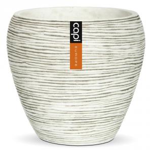 CAPI EUROPE Vase taper rd. ivory - Vasi da interno ceramica