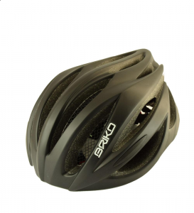 BRIKO Casco ciclismo mountain bike unisex WAVE nero opaco 013582-AT