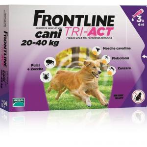 FRONTLINE Tri-act per cani 20-40kg - Antiparassitari cane