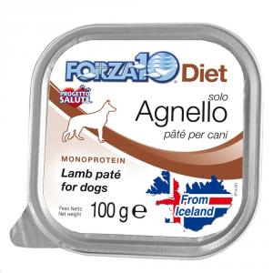 FORZA 10 Forza10 diet solo agnello 100gr - Alimenti umidi monoproteici per cani