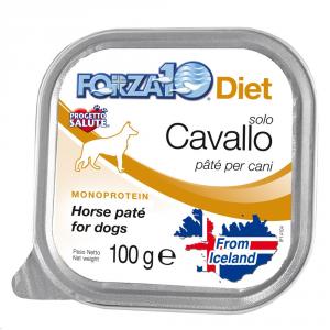 FORZA 10 Forza10 diet solo cavallo 100gr - Alimenti umidi monoproteici per cani