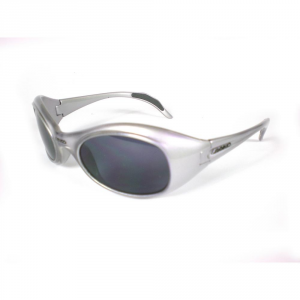 BRIKO VINTAGE Occhiali sportivi da sole unisex TWIN SHIELD argento 01401103S.B8
