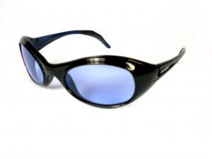 BRIKO VINTAGE Occhiali sportivi unisex TWIN SHIELD nero blu 01401108S.D1