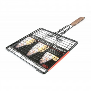 CHARCOAL COMPANION Griglia cestello per pesce - Accessori barbecue