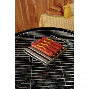 CHARCOAL COMPANION Supporto girevole per hot dog - Accessori barbecue