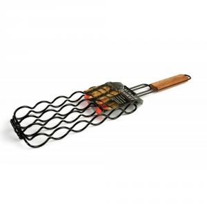 CHARCOAL COMPANION Griglia cestello per salamelle e salsicce Accessori barbecue