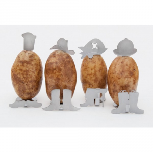 CHARCOAL COMPANION Stand per patate personaggi - Accessori barbecue