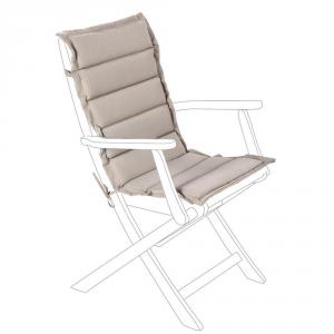 BIZZOTTO Cuscino trapuntato per schienale medio grigio - Arredo giardino cuscini