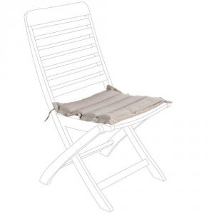 BIZZOTTO Cuscino trapuntato per seduta grigio - Arredo giardino cuscini