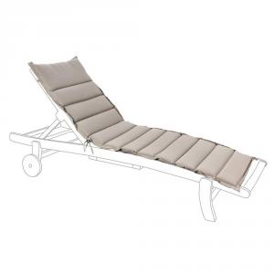 BIZZOTTO Cuscino trapuntato per lettino grigio - Arredo giardino cuscini