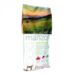 DALLA GRANA PURA NATURA G.Free Manzo Alimenti Secchi Cane Grain Free Cane Secco