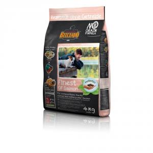 BELCANDO Finest Grain Free Salmon 4Kg Alimento Per Cani Articoli Per Animali