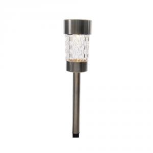 LUMINEO Lampada Solare A Led Finitura Acciaio 26Cm-1L Orto E Giardino