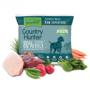 COUNTRY HUNTER Alimento Surgelato Raw Anatra 1Kg Barf Cane Articoli Per Animali