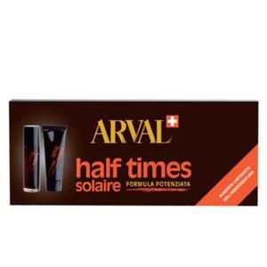 ARVAL Half Times 5 Flaconi Abbronzante Rapido+ 5 Attivatori 10 Ml