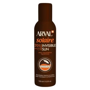 ARVAL Solaire Invisible Sun Spray Trasparente Protettivo Spf 20 Bombola 150 Ml